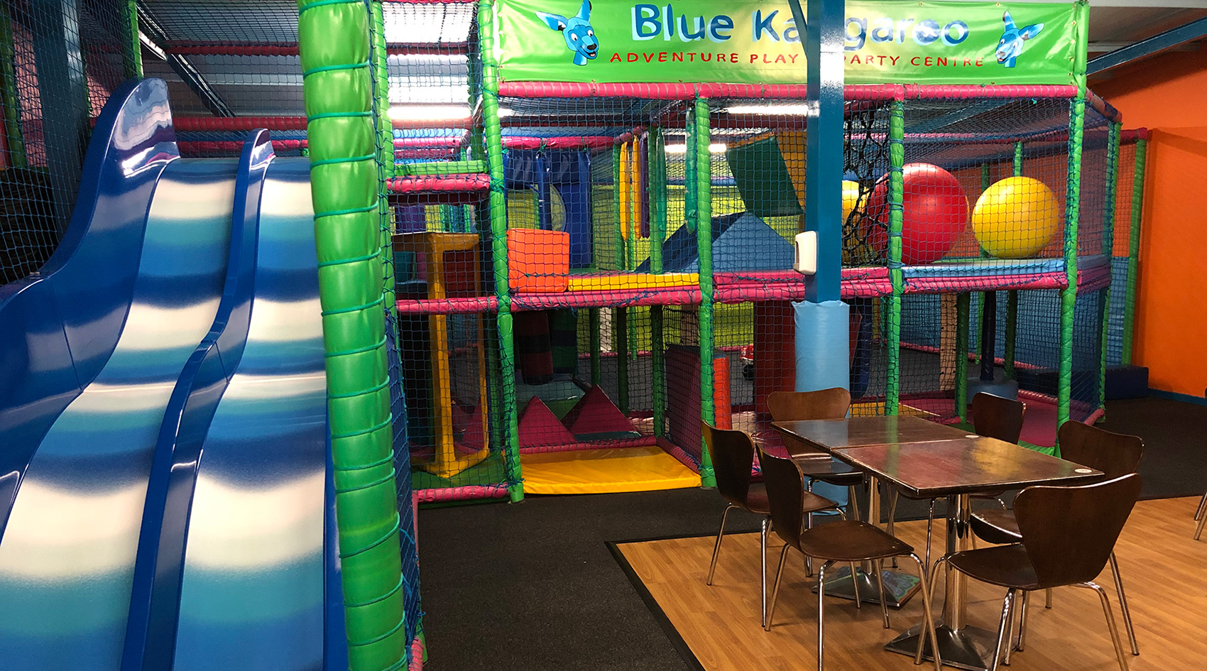 Blue Kangaroo - Soft Play Centre